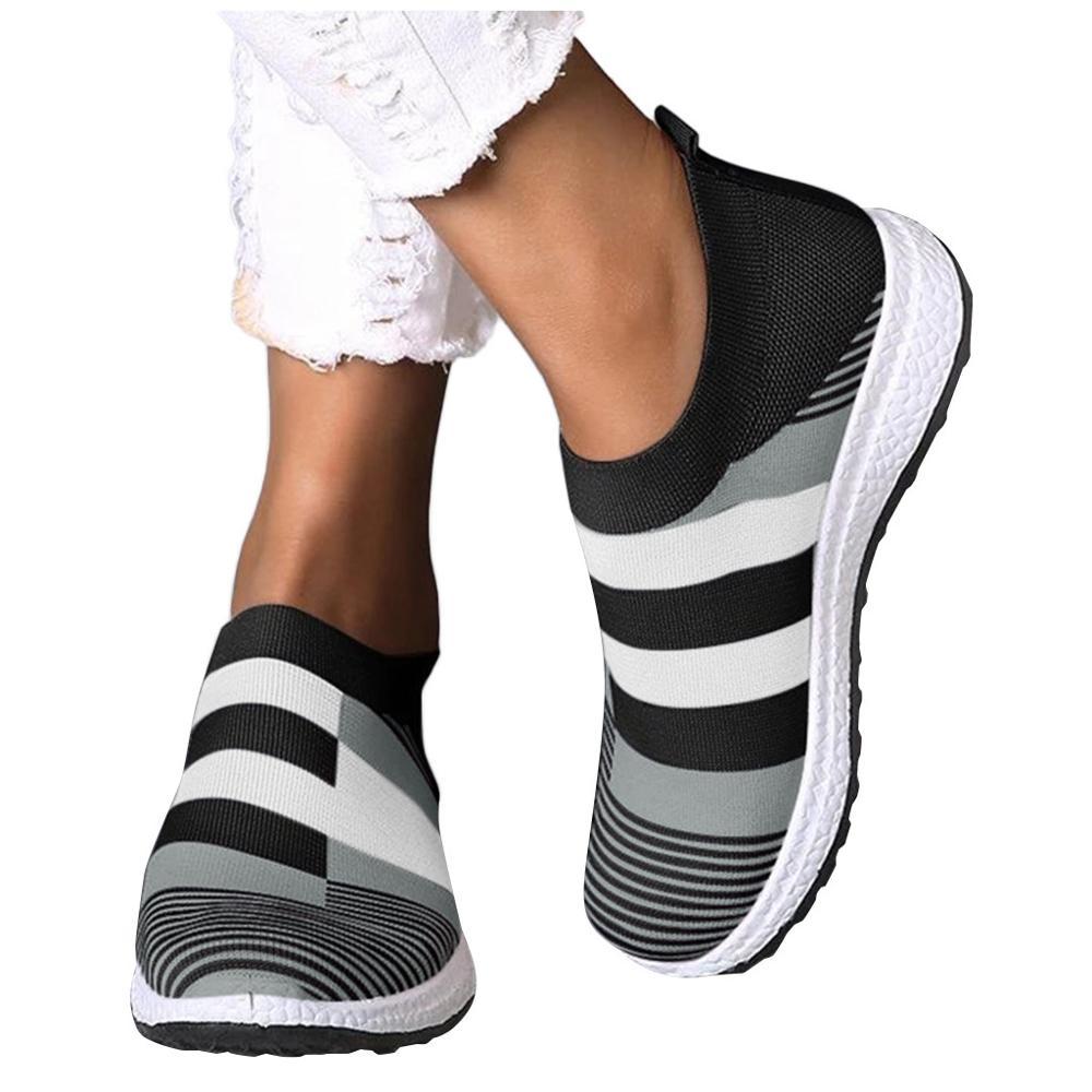 Mode baskets femmes chaussures de marche vulcanisé chaussettes