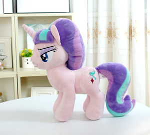 "Image 2 - Unicorn Starlight Glimmer  Plush Horse Action Toy Figures 12"" 30 CM"