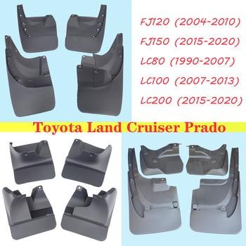 Spatlappen voor toyota Land cruiser Prado spatborden lc200 lc100 lc80 fj120 fj150 fenders splash guards auto auto accessoires 4 STUKS