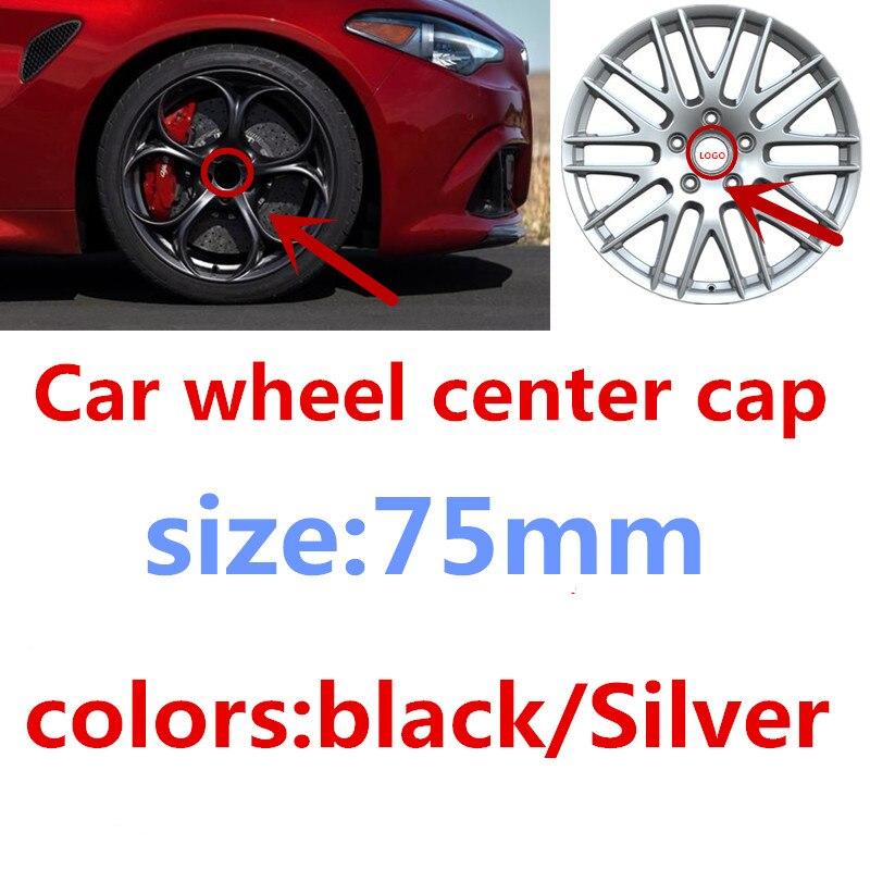 4 шт./лот, 75 мм, черные, серебристые колпачки для центра колеса, колпачки для обода ступицы, значок, эмблема для Benz G M R S, аксессуары для стайлин...