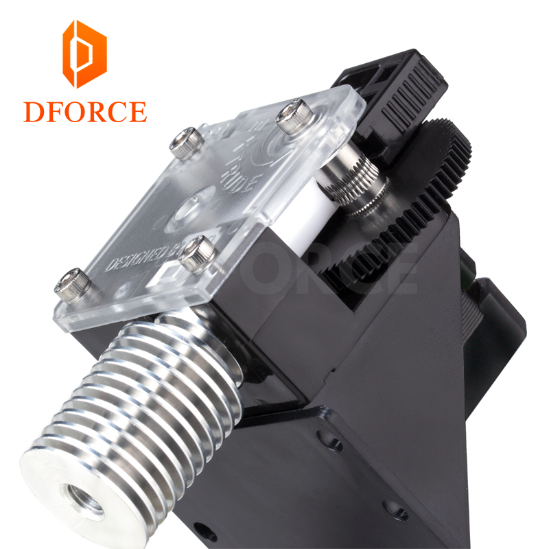DFORCE 3D printer titan Extruder for desktop FDM printer reprap MK8 J-head bowden free shipping i3 mounting bracke