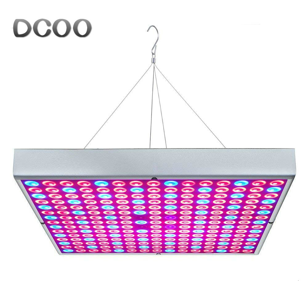 DCOO Plant Lights 25W 45W LED UV IR Growing Lamp AC85-265V Full Spectrum For Indoor Plants Hydroponics Flower Panel Grow Lights