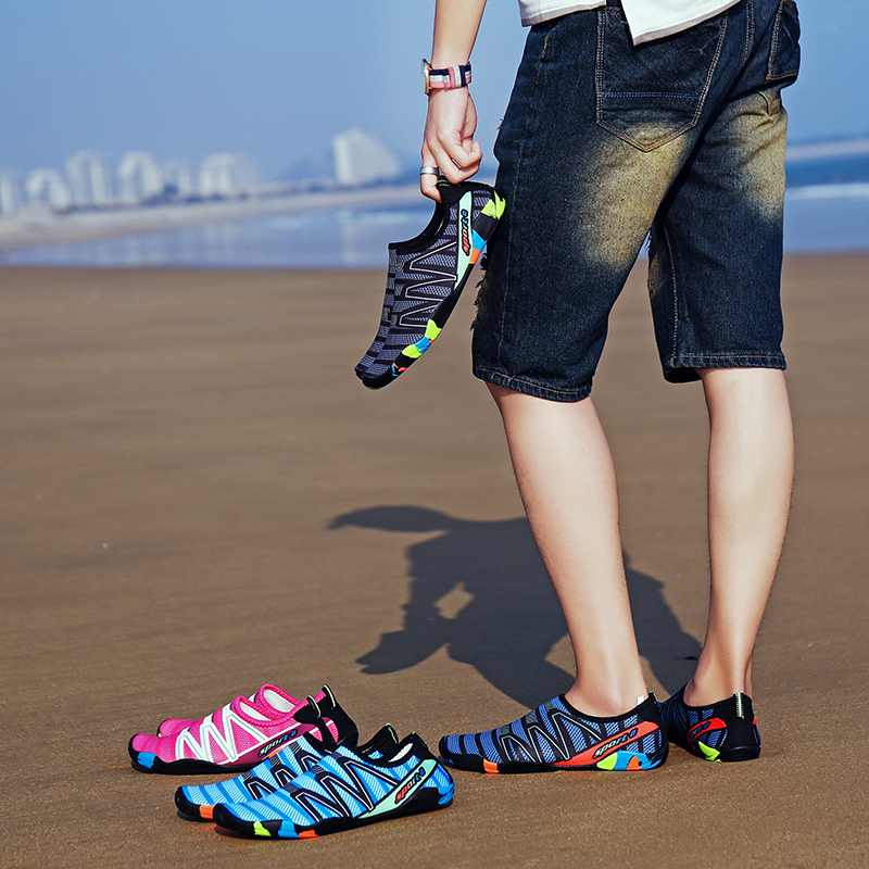Unisex Sneakers Swimming Shoes Water Sports Aqua Seaside Beach Surfing Slippers Upstream Light Athletic Footwear For Men