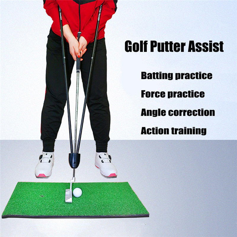 Metal Golf Trainer Beginner Gesture Alignment Correction Training Aids Suitable For Golf Beginners Golf Trainning Aids
