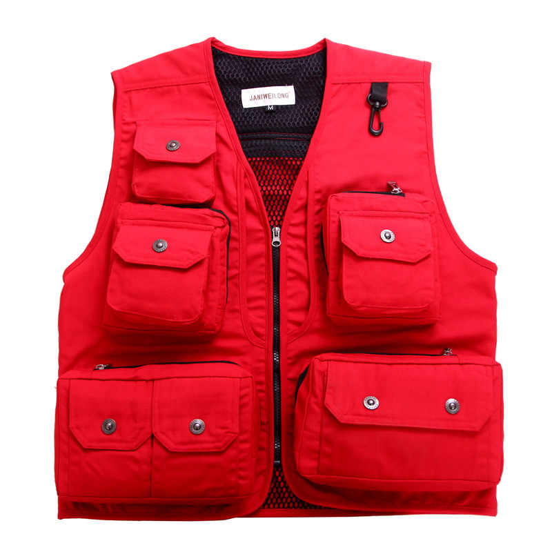 Men Tactical Fisherman Vest Waistcoat Protective Security Combat Vest Military Training CS Field Equipment Hunting Shooting