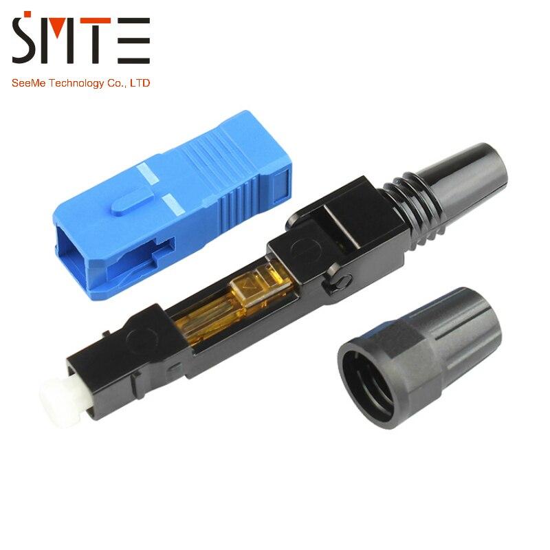 Image 3 - 100pcs/lot SC UPC Cold connector NPFG 60mm 0.3 dB SC UPC fast connector Fiber optical connectorsc upcsc connectorsc sc - AliExpress