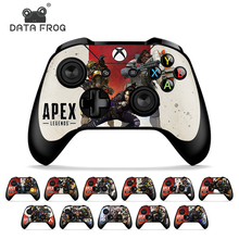 Stickers Controller Skins Gamepad Data-Frog Apex-Legends Xbox-One Microsoft for 2pcs