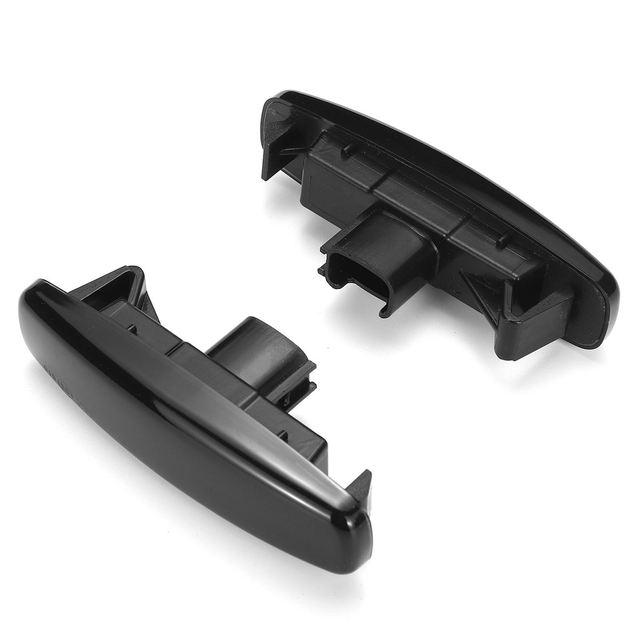 2 pièces dynamique pare-chocs avant LED marqueur latéral clignotant coulant répéteur latéral pour Infiniti G25 G35 Q40 Q60 Q70 QX50 QX70