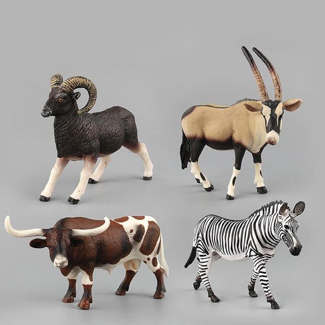 Kuulee Kids Simulate Animal Modeling Educational Toy Home Decoration