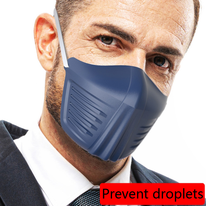 Reuseable Face Protection Mask Anti Splash Spray Fashion Creative Protective PE Anti Dust Protective Masks
