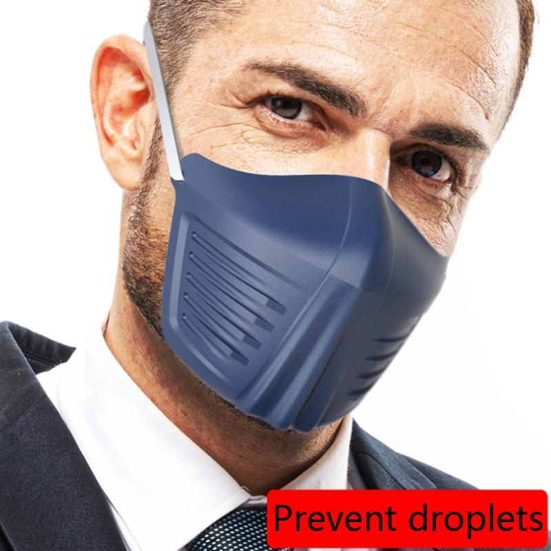 Reuseable Face Protection Mask Anti Splash Spray Fashion Creative Protective PE Anti Dust Protective Masks