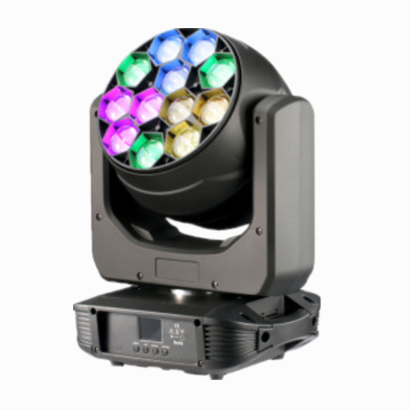 Led Bee Eye Light 12pcsx40W Rgbw Led Zoom Moving Head Wash Dmx Stage Lighting Dj Equipment Disco Beam Wedding Party
