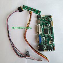 M. NT68676 HDMI DVI VGA LCD LED Controller Board Kartu Kit DIY untuk B133XW03 V4/V.5 1366X768 Panel layar Monitor 40pin(China)