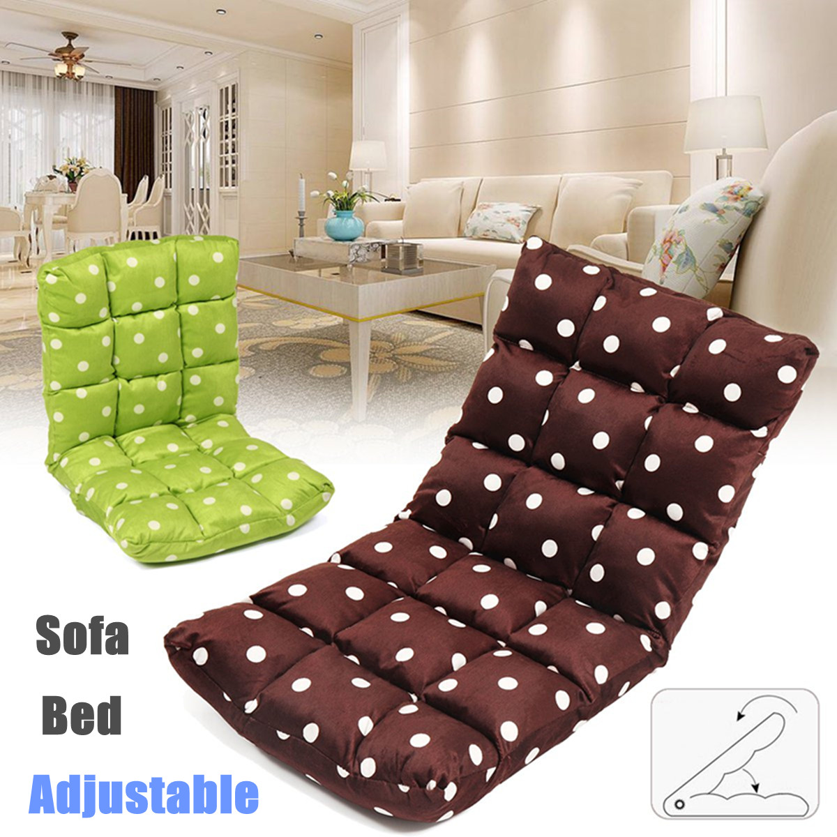 Recliner Lounge Sofa Bed Bean Bag Sofas
