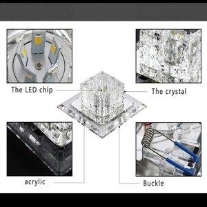 Image 5 - Kristal tavan ışıkları LED Modern avizeler Yeelight oturma odası mutfak armatürü 3W/5W iç mekan aydınlatması plafonniers koridor
