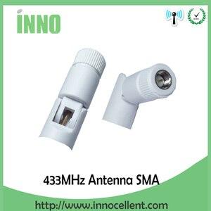 Image 2 - 5Pcs 433 Mhzเสาอากาศ 5dBi SMAตัวเชื่อมต่อชายAntenne 433 MhzสีขาวAntena 433 M + 21 ซม.RP SMA SMA Ufl/IPX ExtensionสายPigtail