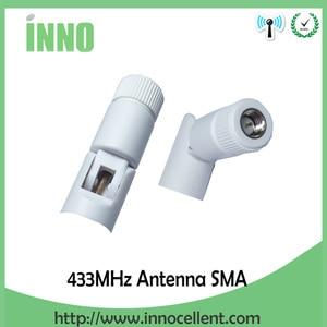 Image 2 - 5pcs 433 Mhz Antenna 5dBi SMA Maschio Connettore antenne 433 mhz bianco antena 433 m + 21 centimetri RP SMA SMA a Ufl/IPX di Estensione Della Treccia del Cavo
