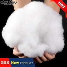 1kg de alta elasticidade eco 3d oco enchimento de lã de algodão pp enchimento para jogar travesseiro brinquedos de pelúcia bonecas saco de feijão sofá cama almofada