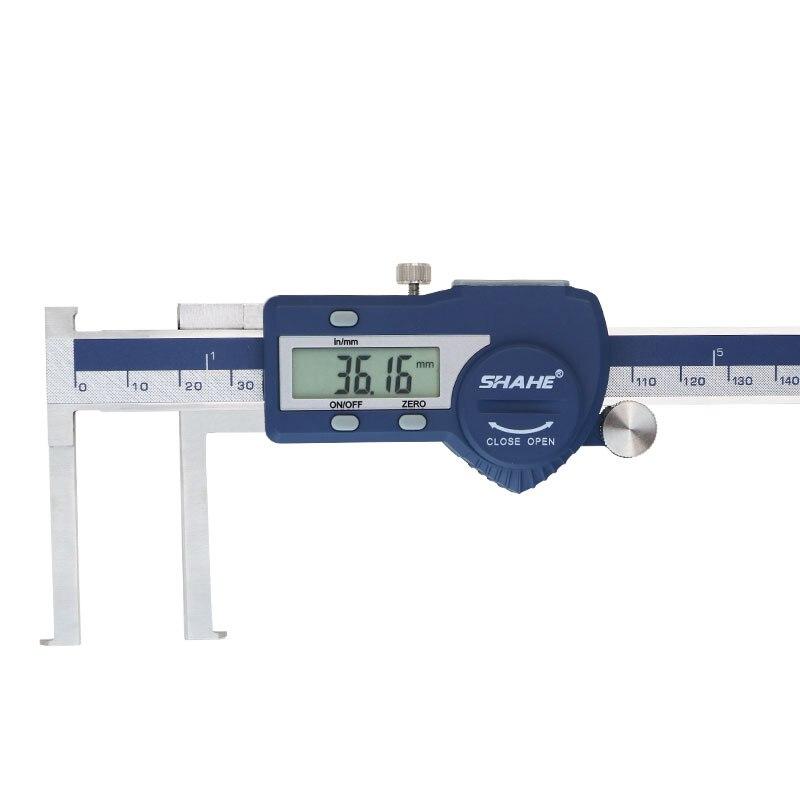 150 Inside Caliper Vernier Measuring Stainless Mm SHAHE Digital Paquimetro Tools Groove Steel Calipers Digital Gauge 8