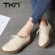 TKN Women Flats Sneakers Shoes Genuine L
