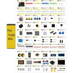 Image 4 - Keyestudio אולטימטיבי Starter Kit/רובוט לרכב עבור Arduino קטן ממציא (אפס מבוסס למידה Arduino רובוט)