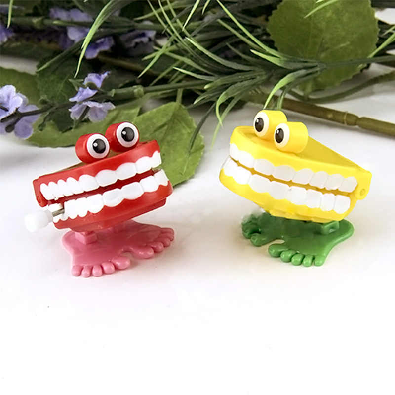 Two Colors Baby Kids Toys Spring Clockwork Toy Mini Pull Back Jumping Frog Wind Up Toys For Children Classic Boys