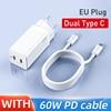 EU Dual Type C White
