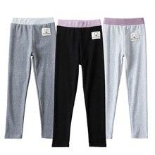 Elastic Leggings for Girls Pants Cotton Skinny Girl Pencil Pants Spring Autumn Stretch