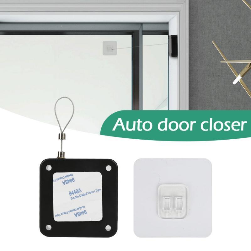 Golpe-de la puerta libre cerca de Cierre de puerta automático cierre automático para puertas de puerta automático sensor sin perforación TSLM1