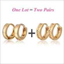 Серьги кольца для детей 2 модели