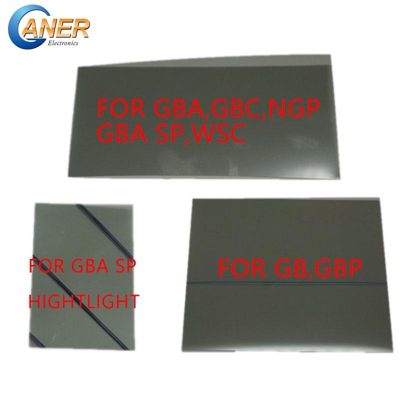 20pcs Polarized Polarizer Filter Film Sheet For Gamboy GB DMG GBP GBA GBC GBA SP NGP WSC Backlit Screen Modify Part Polarizing