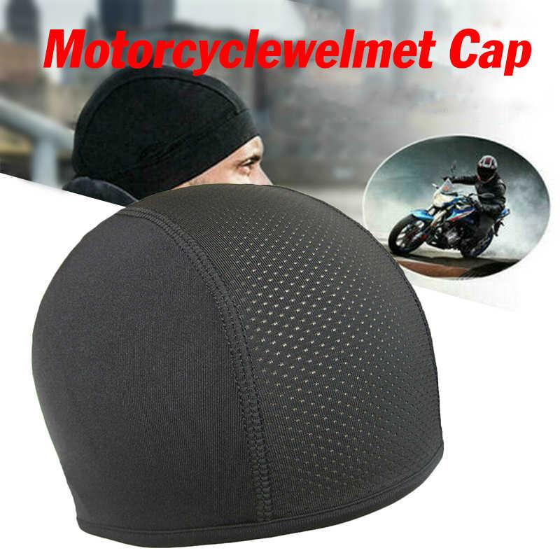 Kask motocross casco moto kask czaszka wewnętrzna czapka kapelusz suchy oddychający kapelusz czapka wyścigowa pod kask czapka czapka Motocross kask