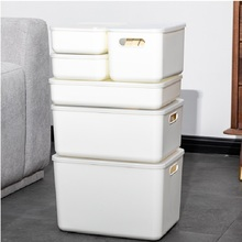 Creative Plastic Underwear Storage Box Japanese Style Superimposed Clothes Toy With Lid Finishing Cosmetic Organizer