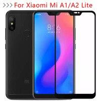 Vetro di protezione Per Xiaomi Mi A1 A2 Lite Caso Della Protezione Dello Schermo Temperato Glas Sul Ksiomi Xiomi Xiami Il Mio UN 1 2 1a 2a A2lite 9h