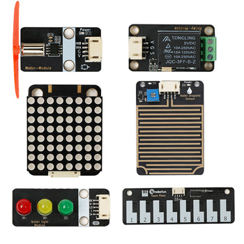 Gesture Recognition Motor Relay Soil Moisture Trafficlight Water Droplets Water Depth 8x8 Dot Matrix Slide Potentiometer Sensor image