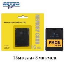Memory Retroscaler V1.966 FMCB PS2 Free-Mcboot-Card for 32MB/64MB 16MB 16MB