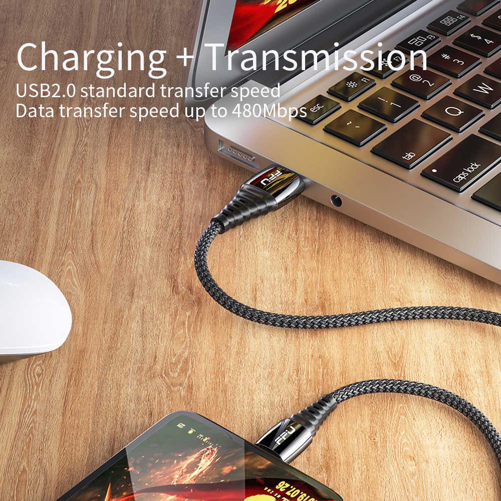 Fpu 5A USB Loại C Cho Samsung S9 S10 USB C Sạc Siêu Nhanh Dây Cho Xiao Mi Mi 9 Huawei P30 Pro USB-C Loại-C Dây