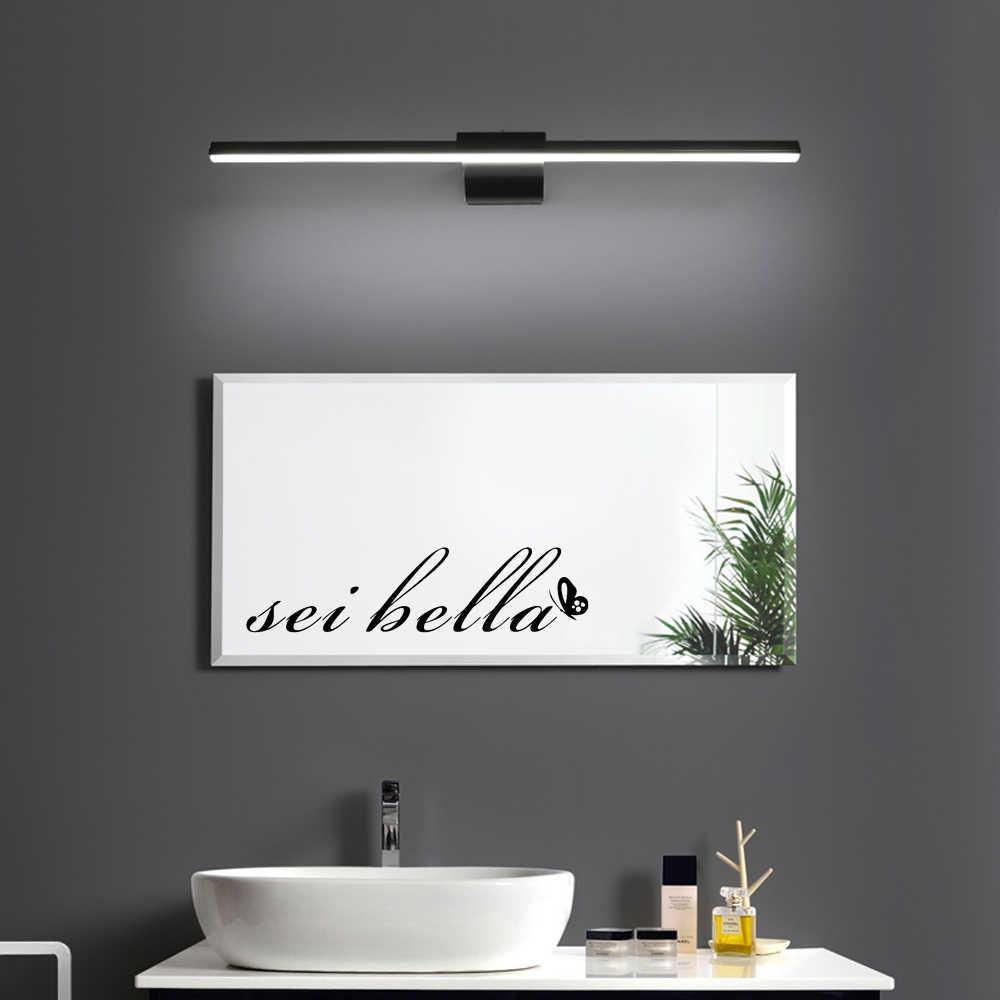 Pozitif bugün teklif su geçirmez duvar çıkartmaları tuvalet banyo aynası dekor duvar çıkartmaları sanat ev dekorasyon aksesuarları WL255