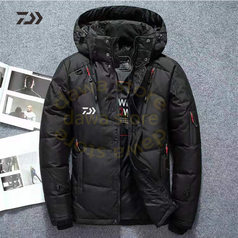 Details about  /Fishing Jacket Men/'s Velvet Fishing Clothes Thicken Thermal coat Fishing Shirt W