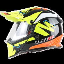 LS2 MX436 Pioneer moto rcycle шлем с солнцезащитным щитом atv dirtbike cross moto cross шлем с двойными линзами внедорожные гоночные мото шлемы