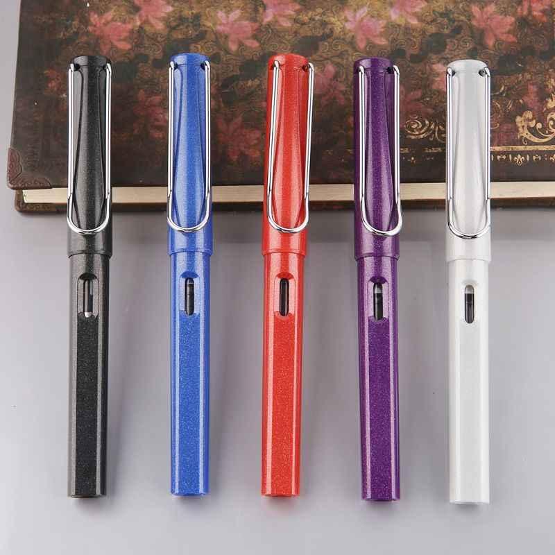 Jinhao 399 موضة قلم حبر طالب الأعمال المتوسطة غرامة بنك الاستثمار القومي الخط مكتب التموين أداة الكتابة LX9A