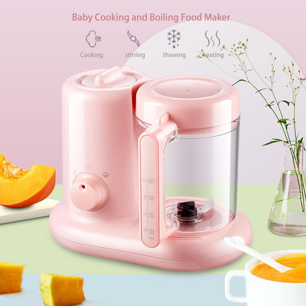1100ml Mini Mixing Food Cooking Machine Baby Multi-functional Smart Food Maker For Kitchen Use