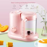 1100ml Mini Mixing Food Cooking Machine Baby Multi functional Smart Food Maker For Kitchen Use