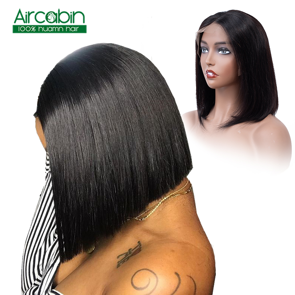 Human Hair Wigs For Black Women Bob Wig Lace Front Human Hair Wigs Brazilian Hair Bob