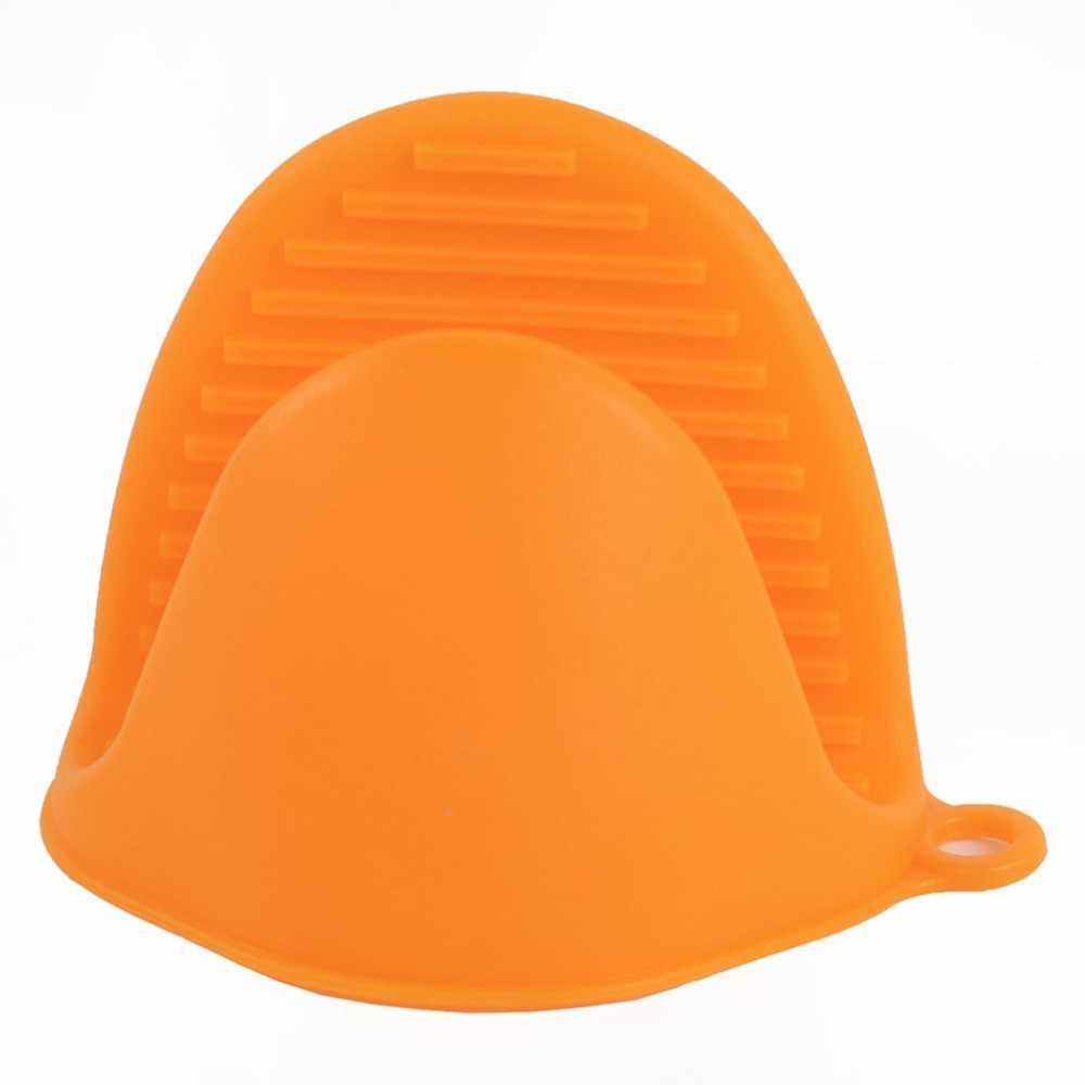 Guantes para horno antiquemaduras de silicona, manoplas para cocina, guantes para barbacoa, bandeja, recipiente para platos, soporte para horno, manopla manual