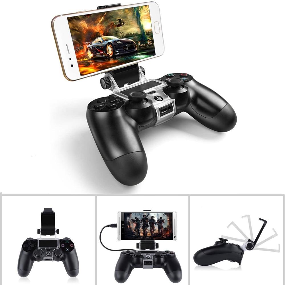 PS4 Wireless Controller Bracket Gamepad Joystick Fixing clip for Dualshock 4 Wireless Controller