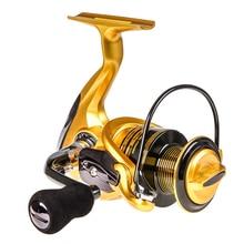 New HOt Metal Spool Fishing Reel GT1000-7000 Full Wheel 13 +1BB Saltwater Dropshipping