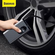 Baseus 휴대용 팽창기 펌프 자동차 공기 압축기 스마트 디지털 타이어 압력 감지 자동차 타이어 오토바이에 대 한 자동 타이어 펌프