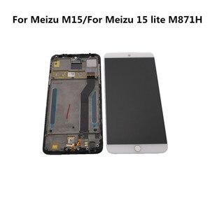 """Image 4 - Oryginalny 5.46 """"dla Meizu M15 wyświetlacz LCD + dotykowy Digitizer zespół czujnika ekranu dla Meizu 15 lite M871H wyświetlacz naprawa części"""