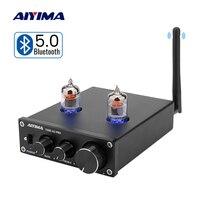 Aiyima 6j1 튜브 앰프 프리 앰프 블루투스 5.0 프리 앰프 앰프 고음베이스 톤 조정 diy 스피커 홈 사운드 극장